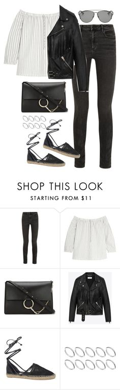 """Sin título #1146"" by osnapitzvic ❤ liked on Polyvore featuring Alexander Wang, Madewell, Chloé, Yves Saint Laurent, Circus By Sam Edelman, ASOS and Christian Dior"