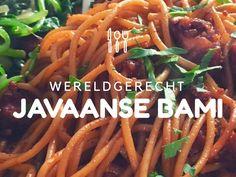 Javaanse bami (recept) Healthy Lasagna Rolls, Asian Recipes, Ethnic Recipes, Indonesian Food, Indonesian Recipes, Exotic Food, World Recipes, Other Recipes, Soul Food