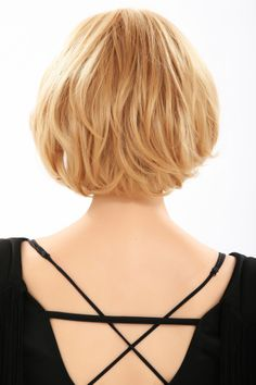 Short Wavy / Curly Blonde Lace Front Synthetic Hair Wigs