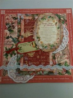 1st of 3 Graphic 45 -12 Days of Christmas Layout Series