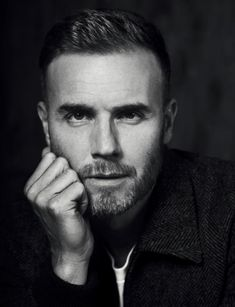 💙 we love us some Gary! Most Beautiful Man, Gorgeous Men, Robbie Williams Take That, Louis Walsh, Gary Barlow, Ex Husbands, Daryl Dixon, Well Dressed Men, No One Loves Me