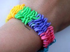Pulsera de gomitas Shuffle (SIN TELAR) / Shuffle bracelet (NO LOOM)