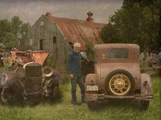"""This ones a keeper"". Thanks to Flickr contact Maorlando for the idea and the Texas Ford Model A Coupe from 1930."