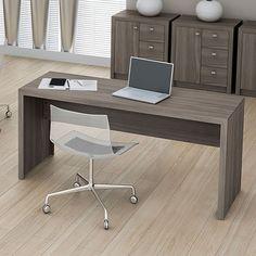 Mesa para Escritório ME4109 Carvalho - Tecno Mobili