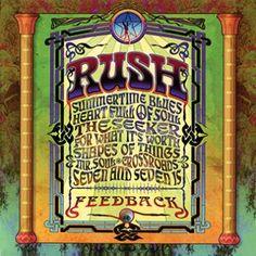 """L'album dei #Rush intitolato """"Feedback"""".  Per la prima volta una delle migliori e più dinamiche Rock band ripropone una raccolta di cover dei classici degli anni 60 di Cream, The Who, Buffalo Springfield, Yardbirds e altri."""
