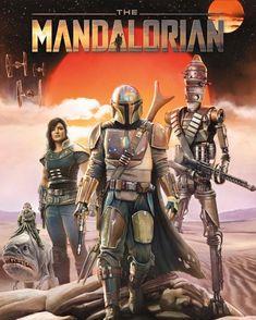 "Movie Collector/'s Poster Print DISNEY STAR WARS 11"" X 17"" The Mandalorian"