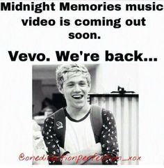 Directioners coming soon to a vevo near you