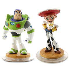 Disney Infinity Toy Story Play Set - Jessie, Buzz Lightyear, and Game Piece