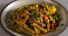 Mediterranean okra stew