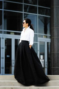 D'innombrables façons de porter votre chemisier blanc :