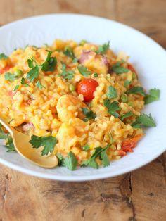 Hoe maak je doordeweeks een snelle paella in 30 minuten? Met dit makkelijke recept waar het hele gezin van kan genieten.