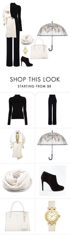 """Rainy day"" by mprocedi ❤ liked on Polyvore featuring Roland Mouret, Burberry, Vera Bradley, New Look and Tory Burch"