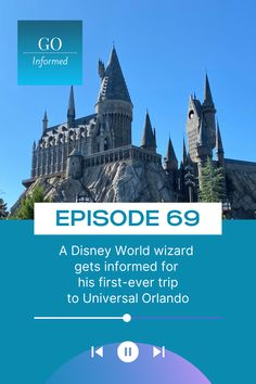 Get the answers to some of the most commonly asked Universal Orlando first-timer questions. You'll learn what makes Universal's Express Pass and early admission worth staying on-site, why everyone should invest in an interactive wand, and even which rides are guaranteed to get you drenched. Listen on your favorite podcast app or read all about it and listen at GoInformed.net/69 Florida Vacation, Florida Travel, Orlando Theme Parks, Disney World Trip, Universal Orlando, Sunshine State, Disneyland, Adventure, Islands