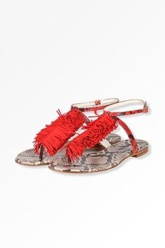 new styles 025a5 1208b Boho Sandals, Leather Sandals, Hippy Chic, Boho Chic, Red Accessories, Red