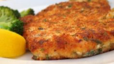 Parmesan Crusted Chicken this recipe is so delicious I love putting it in my mac n cheese just like noodles n company!