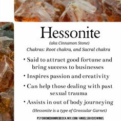 Hessonite crystal meaning