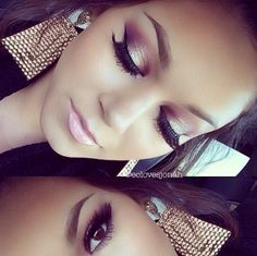 Love this dramatic eye look http://thepageantplanet.com/category/hair-and-makeup/