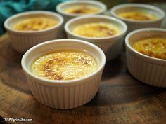 Healthier Instant Pot Crème Brûlée