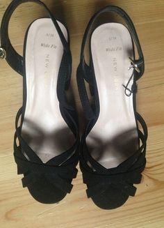 Kaufe meinen Artikel bei #Kleiderkreisel http://www.kleiderkreisel.de/damenschuhe/slingbacks/120737914-schwarze-sandaletten-gr-38-new-look