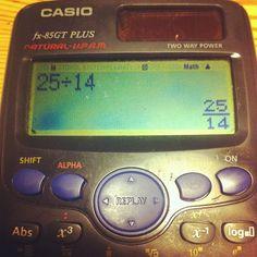God damn it, that's not helpful, calculator. (via #spinpicks)