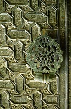 Moorish style door in Spain