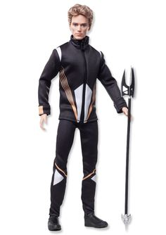 """Barbie Collector The Hunger Games Catching Fire Finnick Odair Doll - Mattel Girls - Toys """"R"""" Us Hunger Games Catching Fire, Hunger Games Trilogy, Jenifer Lawrence, Poppy Parker, Ken Doll, Barbie Collector, Mockingjay, Barbie World, Barbie Friends"""