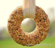 Bird Seed Wreath
