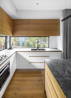 Box House by Paul Tilse Architects - Canberra Extension Architecture - The Local Project Contemporary Architecture, Interior Architecture, Latest Kitchen Designs, T Home, Box Houses, Interior Design Kitchen, Ideal Home, Architects, House Design