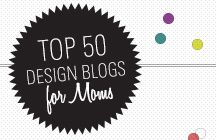 The Top 50 Design Blogs for Mom, 2012