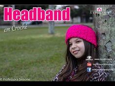 8e76f0e2c Headband de Crochê - Passo a passo - Professora Simone #crochet - YouTube