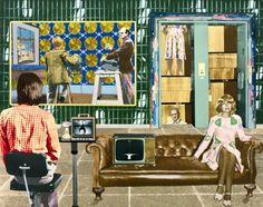 Tim Mara 'Power Cuts Imminent', 1975 © The estate of Tim Mara Tim Mara, Jeff Wall, Royal College Of Art, Middle School Art, Chiaroscuro, Old Master, Everyday Objects, Print Artist, Art Studies