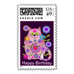 >>>The best place          	Flower Power Cat birthday postage           	Flower Power Cat birthday postage we are given they also recommend where is the best to buyReview          	Flower Power Cat birthday postage Review on the This website by click the button below...Cleck Hot Deals >>> http://www.zazzle.com/flower_power_cat_birthday_postage-172157535126505090?rf=238627982471231924&zbar=1&tc=terrest