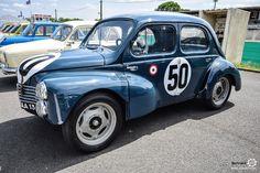 #Renault #4CV au Losange Passion International. #MoteuràSouvenirs Reportage…