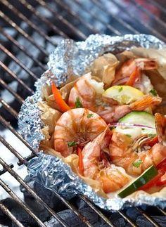 Vis en zeevruchten op de barbecue: recepten en tips | Colruyt