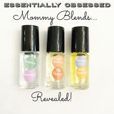 1. Relaxation Blend,  this one is everything for daily mommy stress! I roll this one on my wrists, neck and behind my ears daily. Plus it smells amazing! (10 drops of Balance and 10 drops of Serenity in a 5ml rollerball) 2. Immunity Blend, this one goes on my feet morning and night because no mama has time to be sick! (15 drops OnGuard and 5 drops Frankincense in a 5ml rollerball) 3. Focus Blend, this is m