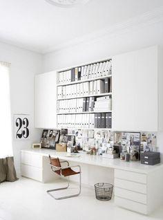 10 jolis bureaux pour travailler ou bloguer de chez soi sur @decocrush #moodboard