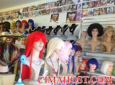 WE SELL AND RENT COLORED WIGS, GET IN TOUCH WITH CIMAHOST.COM FOR MORE INFO