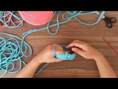 Cesto Redondo Fio de Malha - Iniciante - YouTube