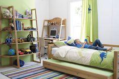 Kids Bedroom, Captivating Kids Bedroom Design For Boys With Wooden Bed Rug Glass…