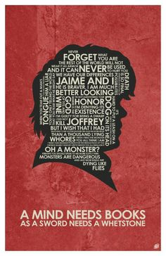 Game of Thrones - Tyrion Lannister Quote Poster By OutNerdMe