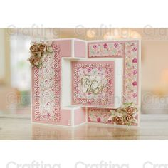 Essentials by Tattered Lace - Tri-fold Card