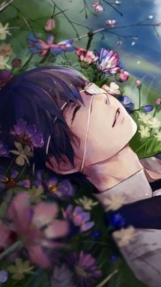 Tokyo Ghoul Kaneki- He looks so peaceful. Never really get to see him this way.