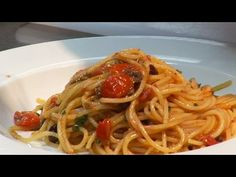How to make Spaghetti Alla Puttanesca | by Theo Randall - YouTube