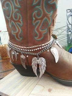Rhinestone Studded Heart Wings Pendant by HowlingWolvesJewelry
