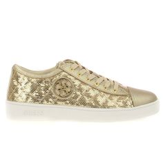GUESS (Ghelda) Sneaker Donna Para Paillettes Oro FLGHE1-SAT12