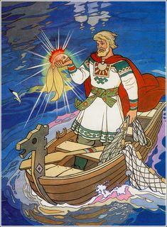 Былина: Садко (с иллюстрациями) | Сказки для детей. Рассказы и сказки с картинками