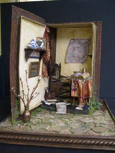 My Dream Dollhouse: The Book Room by Lenor Johnson