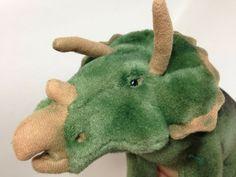 Very short plush materal ( almost crushed-velvet-like). Dinosaur Bedroom, Jellycat, Paper Tags, Crushed Velvet, Awesome Stuff, Dinosaur Stuffed Animal, Plush, Teddy Bear, Green