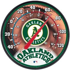 Oakland Athletics Thermometer