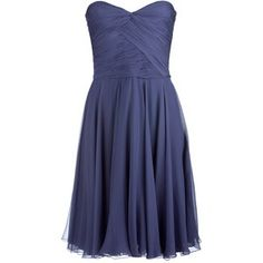 Flattering Navy Blue Bridesmaid Dress - http://www.pinkous.com/wedding-ideas/flattering-navy-blue-bridesmaid-dress.html